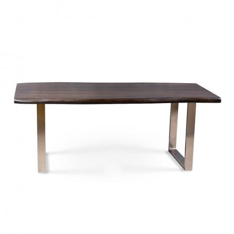 Стол из массива большой, ДЖИВАН sigar silver, 2 метра