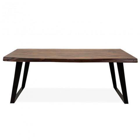 Стол из массива ДЖИВАН sigar black, 2 метра