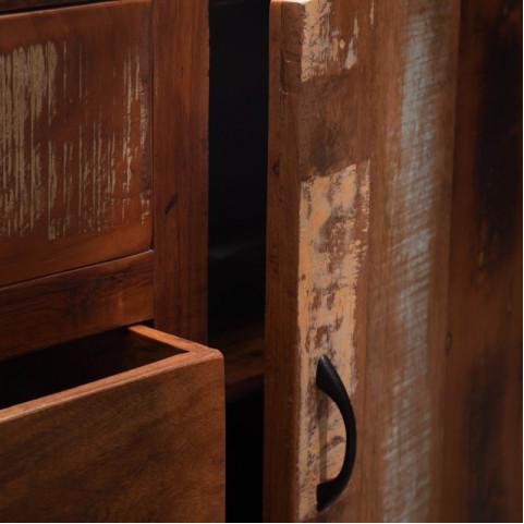Комод из массива в стиле лофт, МАНИША